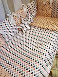 """Комплект """"Elite"""" в детскую кроватку, розовый с коронами, фото 5"""