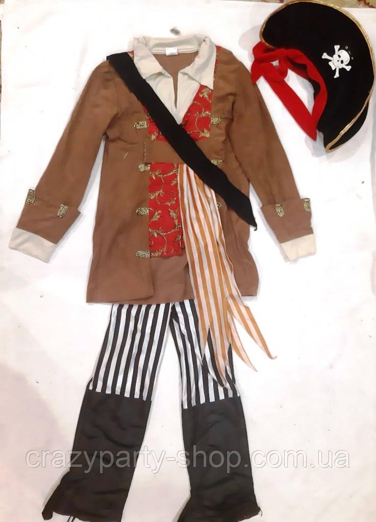 Костюм карнавальный детский Капитан пиратов 152 см б/у Дисней