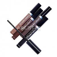 Оттеночный гель для бровей - Relouis Fix and Color Eyebrow Gel