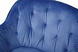 Кресло VIENA синий велюр Nicolas (бесплатная доставка), фото 4
