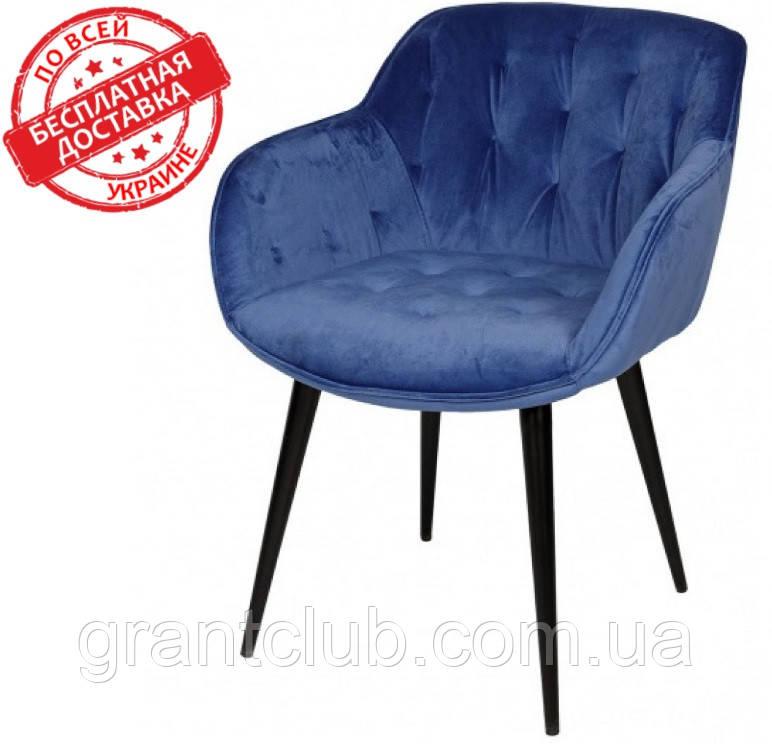 Кресло VIENA синий велюр Nicolas (бесплатная доставка)