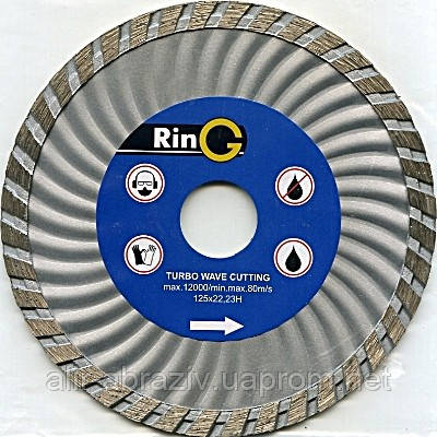 Круг алмазный turbo 150 x 22 Ring