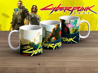 "Чашка Киберпанк 2077 ""Brave""/ Cyberpunk 2077"