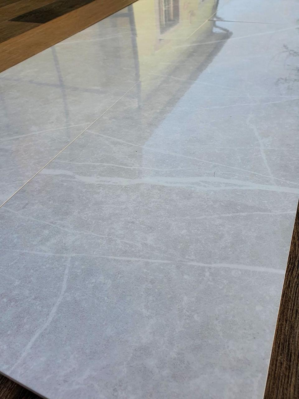 Плитка безшовна для стін Oivia 295х895 мм Настінний кахель під світло-сірий італійський мармур