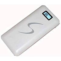 Power Bank S 30000mAh white 3 USB с LCD дисплеем! доверие