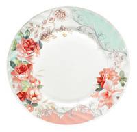 """Набор 6 десертных тарелок """"Версаль Розы"""" Ø17.5см, стеклокерамика ST-30057-005"""