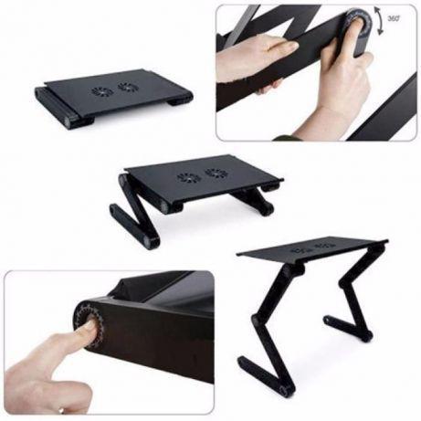 Складной столик для ноутбука Т8, трансформер с USB-охлаждением и подставкой  для мышки Т8! Лучшая цена, цена 580.55 грн., купить в Львове — Prom.ua  (ID#1167647745)