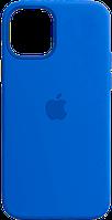 Чохол силіконовий на айфон Silicone Case для iPhone 12 mini royal blue синій