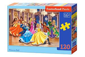 Пазлы Castorland на 120 элементов Принцессы B-13449