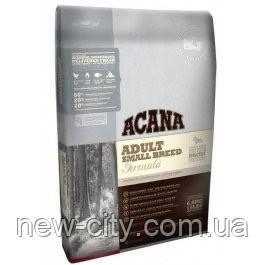 ACANA Adult Small Breed – Биологически соответствующий корм для взрослых собак малых пород 6 кг