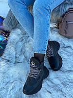 Ботинки женские зимние 6 пар в ящике серого цвета 36-40, фото 2