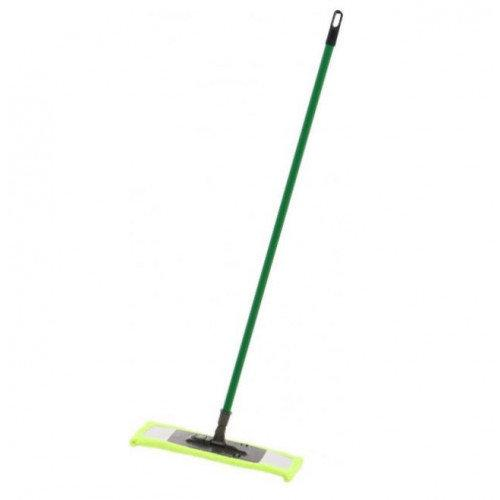 Швабра полотер микрофибра Eco Fabric EF-MonoG зелёная