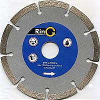 Отрезной алмазный диск сегмент 115 x 22 Ring