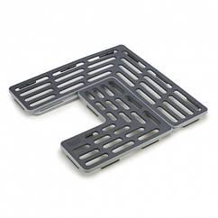 """Решетка-трансформатор для мойки """"Sink Saver"""" 28.5х28.5х1.5см из пластика Joseph Joseph"""