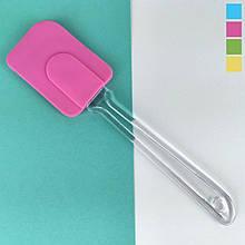 Силіконова Лопатка L24,5см ручка 16,5 см ширина 5см