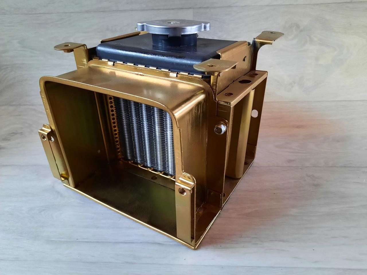 Радиатор алюминиевый 190 на мотоблок с крышкой 10л.с