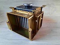 Радиатор алюминиевый 190 на мотоблок с крышкой 10л.с, фото 1
