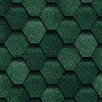 Битумная черепица TILERCAT «Прима» зеленая