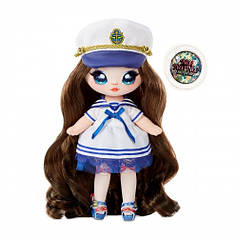 Игровой набор с куклой NA! NA! NA! SURPRISE серии Sparkle S3 W1 СЕЙЛОР БЛУ с аксессуарами 573753