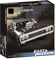 Конструктор 11511 Техник Dodge Charger Доминика Торетто, 1077 деталей