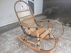 Крісло-гойдалка плетені з ротанга