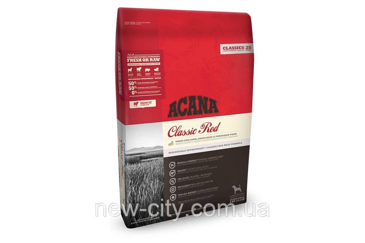 Acana Classic Red Dog - корм Акана для собак всех пород и возрастов 11,4kg