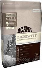 ACANA Light  &  Fit– биологически соответствующий корм для взрослых собак с избыточным весом  11.4 кг