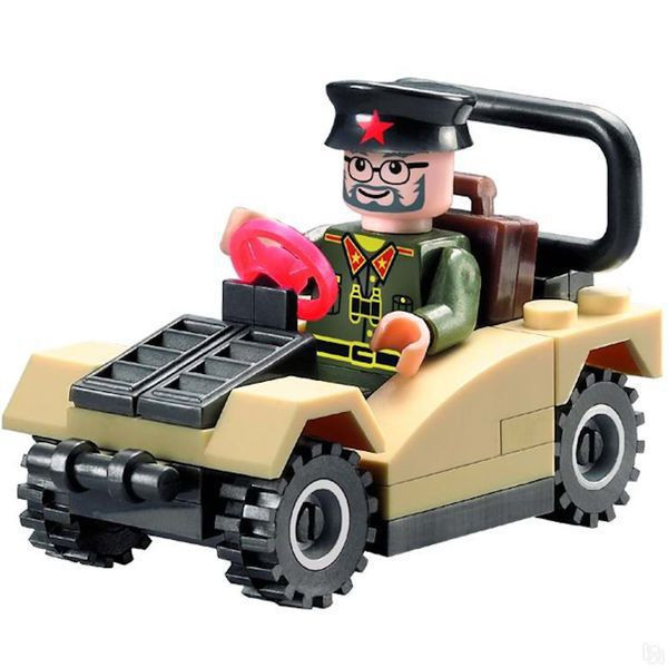 Конструктор Brick Машина 824, 33 детали