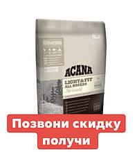 ACANA Light & Fit– биологически соответствующий корм для взрослых собак с избыточным весом старше 1 года 2 кг