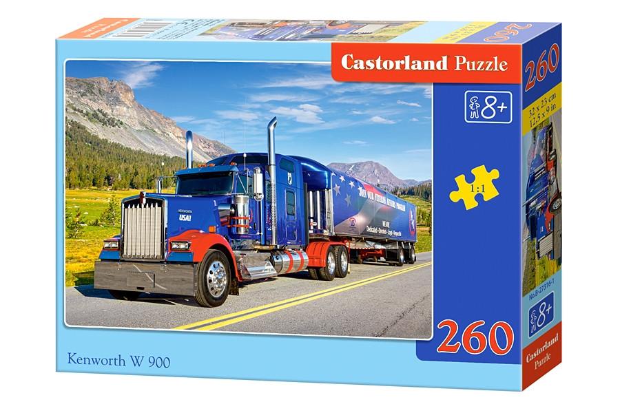 Пазлы Castorland на 260 элементов Kenworth W900 B-27316