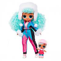 """Игровой набор с куклой L.O.L. Surprise! серии O.M.G Winter Chill"""" – Ледяная Леди"""" куклы лол  чил, фото 1"""