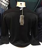 Турецкие мужские свитера свитшоты чёрного  цвета, фото 2