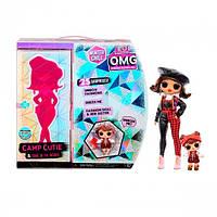 """Игровой набор с куклой L.O.L. Surprise! серии O.M.G Winter Chill"""" – Очаровашка"""" кукла лол чил, фото 1"""