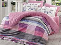 Комплект постельного белья Hobby 4703 Евро, поплин (100% хлопок) SA-4703