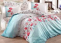 Комплект постельного белья Hobby 4711 Евро, поплин (100% хлопок) SA-4711