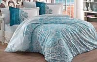 Комплект постельного белья Hobby 4713 Евро, поплин (100% хлопок) SA-4713