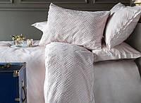 Комплект постельного белья Pupilla Lauren-Lila (евро), сатин SA-6465