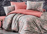 Комплект постельного белья Nazenin Aster-Kiremit (полуторный), ранфорс SA-6145