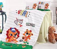 Комплект детского постельного белья Nazenin Player в кроватку, хлопок SA-5749
