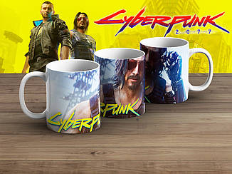 "Чашка Киберпанк 2077 ""In Glasses""/ Cyberpunk 2077"