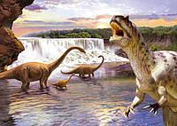 Пазлы Castorland на 260 элементов Динозавры B-26616