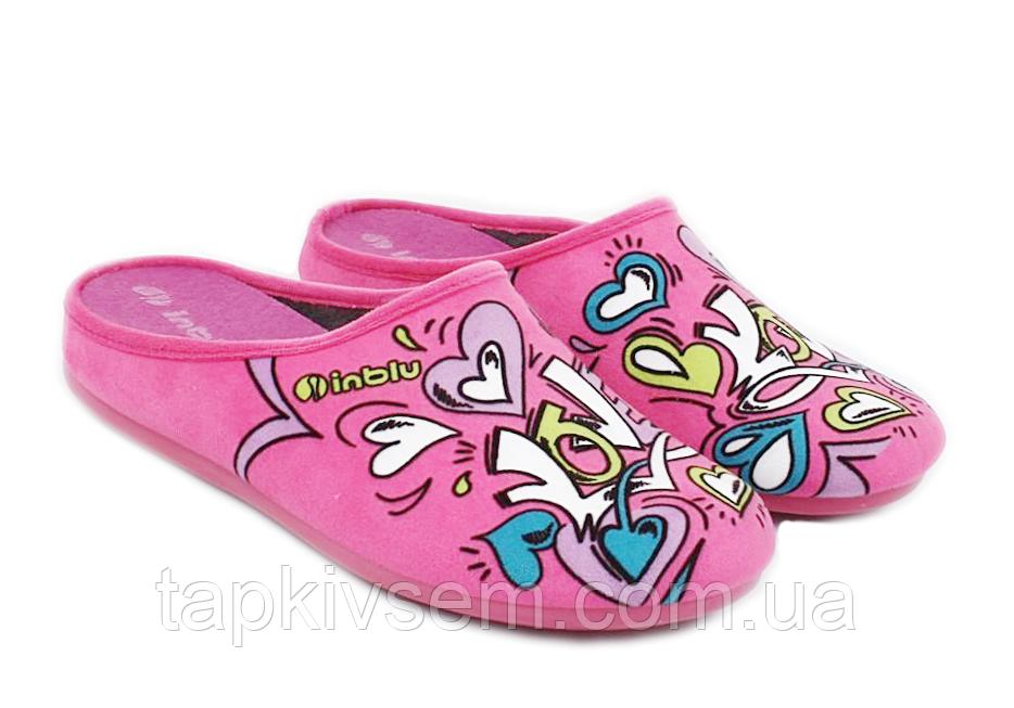 Тапочки Inblu женские розовые 47700