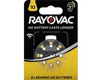 Батарейка для слуховых аппаратов RAYOVAC DA10 8шт