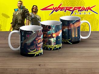 "Чашка Киберпанк 2077 ""Weapon""/ Cyberpunk 2077"