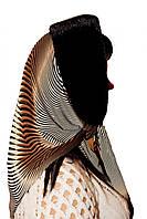 Женский норковый капор (черный)