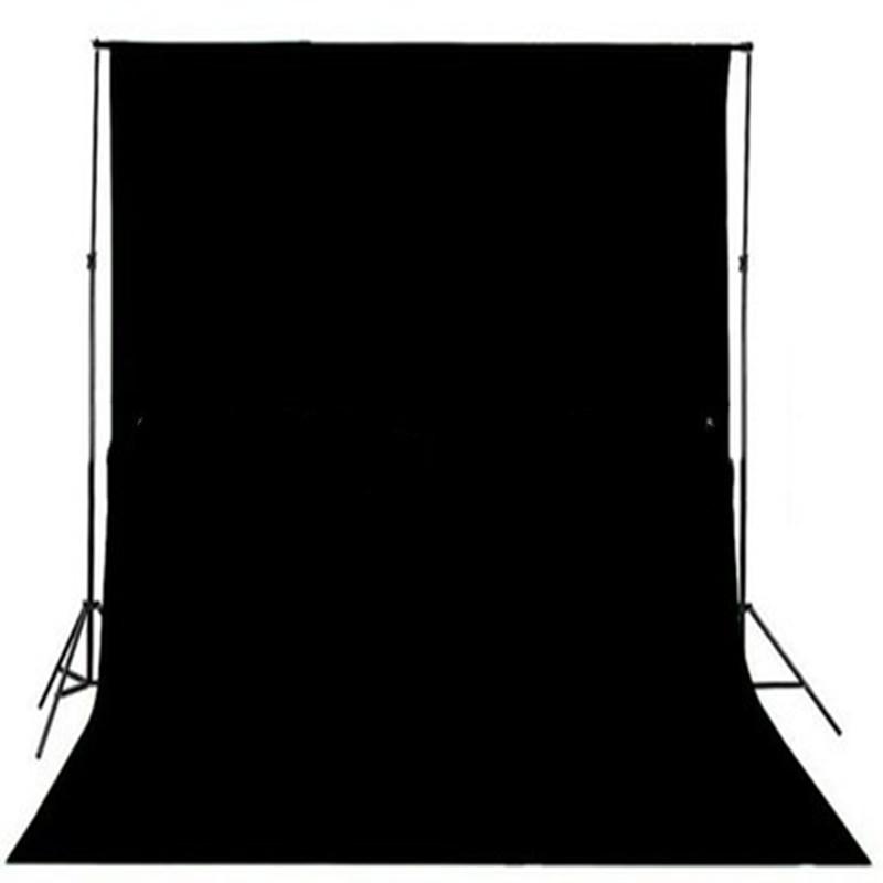 Фон для фото, фотофон тканевый Черный 1.5м/3м студийный.