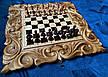 "Шахматы-нарды-шашки 3 в 1 с символом года "" Бык "", фото 4"