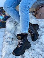 Ботинки женские зимние 6 пар в ящике черного цвета 36-40, фото 2