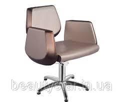 Перукарське крісло на гідравліці для клієнта крісла для стрижки комплектуючі Польща Kleo