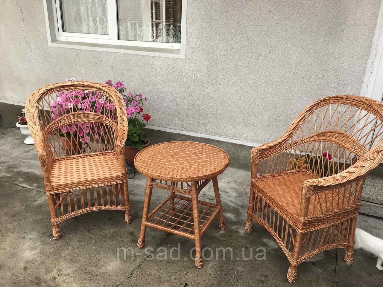 Комплект плетеной мебели Дуэт